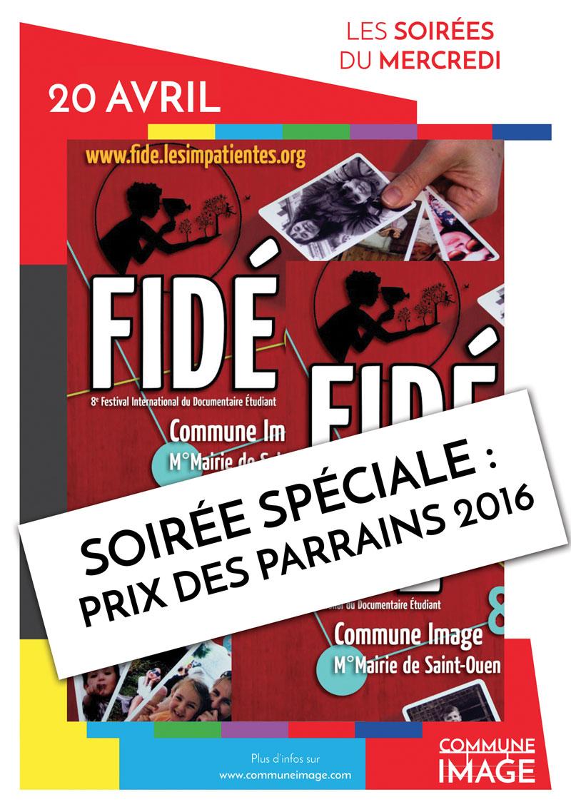 Séance spéciale «Prix des parrains 2016»!